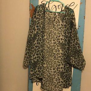 Sweaters - Leopard Cardigans